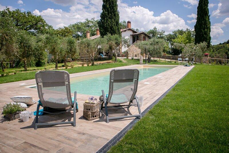 Villa delle Crete, casa vacanza a Asciano