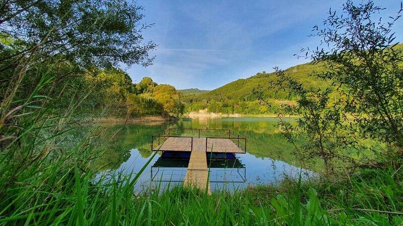 Cabana Lac Paltinu si Padure Valea Doftanei, location de vacances à Slanic