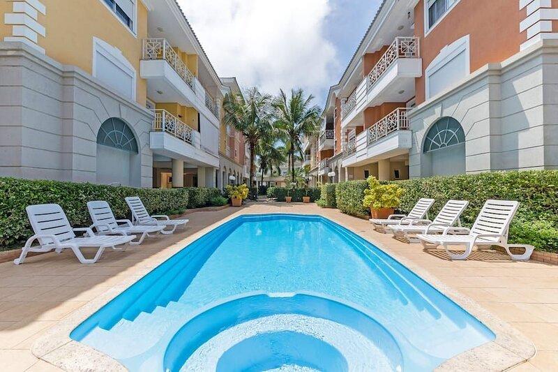 Férias Jurerê-apto 2 suítes para 6 pessoas VDI208, location de vacances à Sambaqui