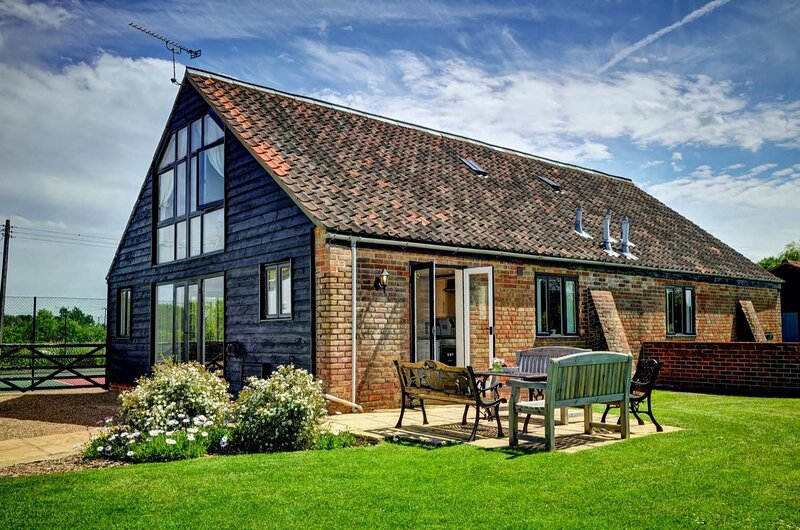 East Green Farm Cottages - The Hayloft, Ferienwohnung in Theberton