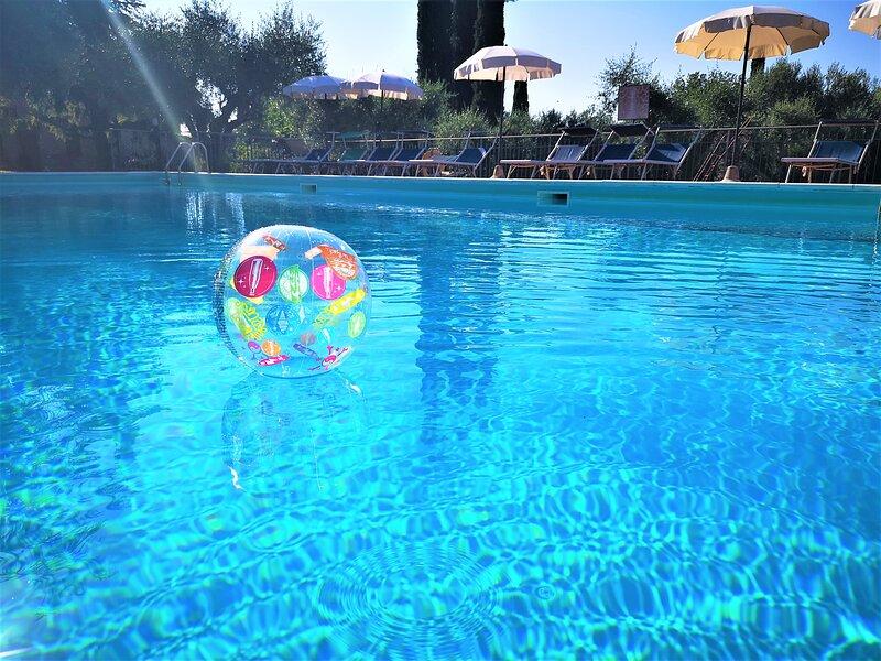 Sunflower on the Pool, casa vacanza a Panicarola