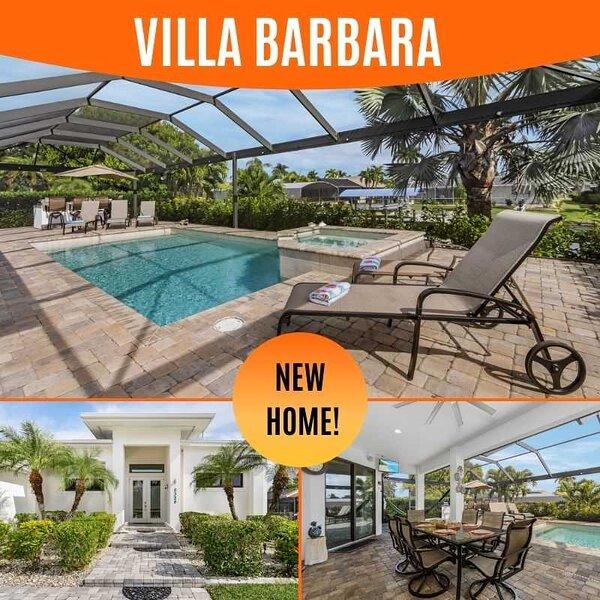 20% OFF! SWFL Rentals - Villa Barbara - Elegant Gulf Access Pool Home in SE Cape, Ferienwohnung in Cape Coral