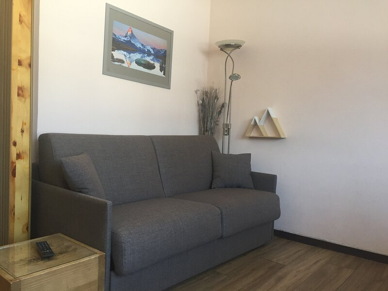 STUDIO 4 COUCHAGES AURON STATION, vacation rental in Saint-Etienne-de-Tinee