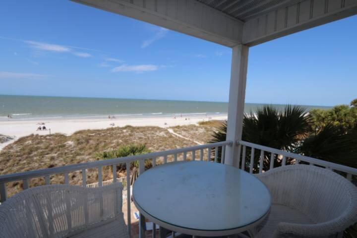 Enjoy the View of the Gulf of Mexico from the Private, Covered Balcony