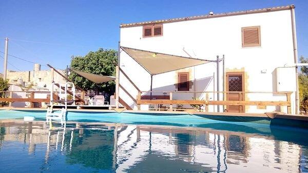 La maison de Marie à Marsala, holiday rental in Parrinello
