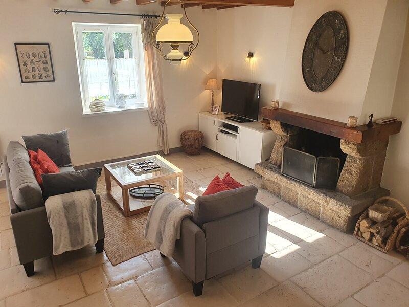 Domaine de Houtteville - Omaha Beach Normandy - Gîte Harmony, vacation rental in Vierville-sur-Mer