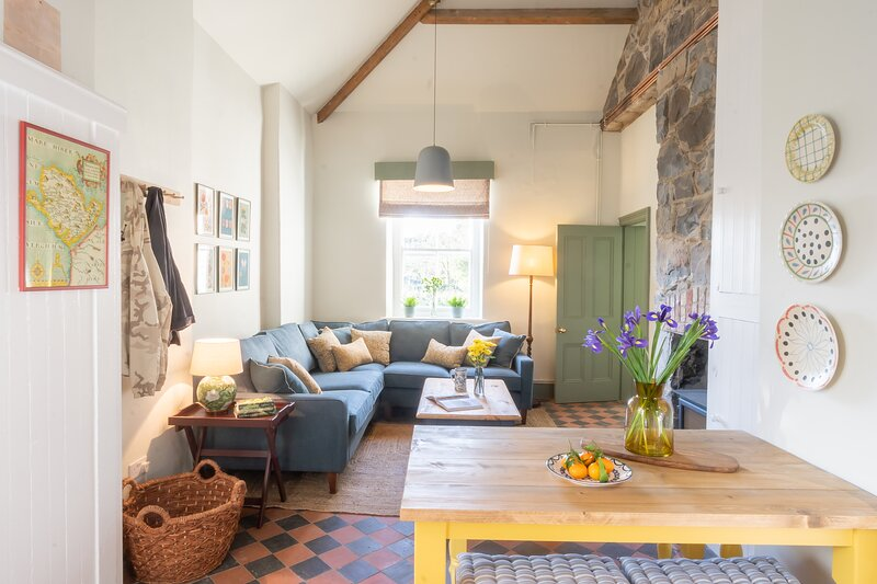The Gardeners Bothy - Nestled by the wood, holiday rental in Gaerwen