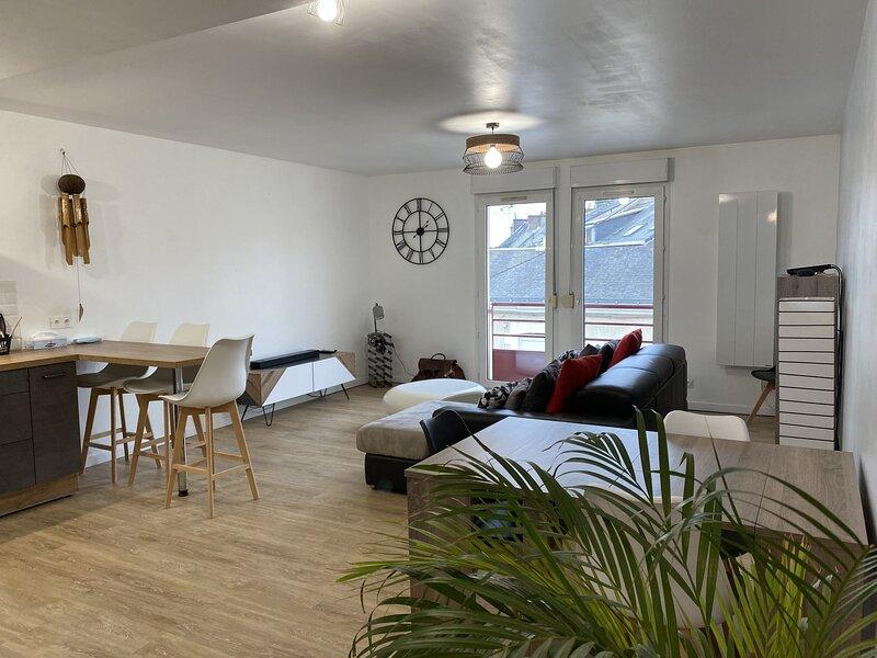 Grand appartement 75m2 Centre-Ville Gare 500m, vacation rental in Le Mans City