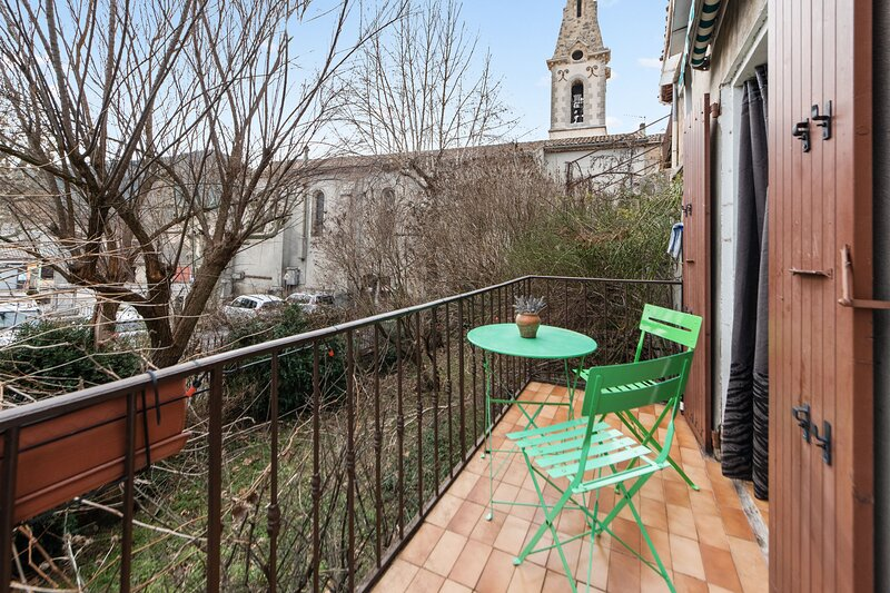 Amazing apartment with balcony, holiday rental in Thorame-Basse