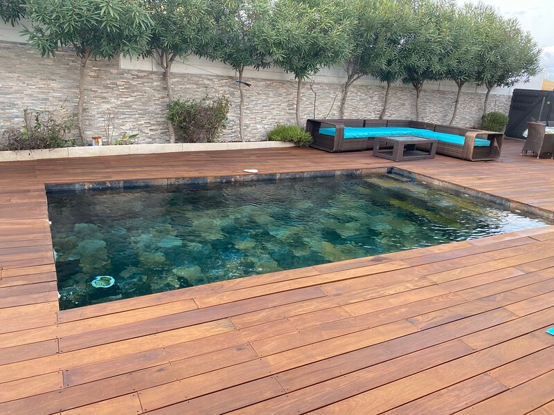 Spacious house with swimming-pool, vacation rental in Saint-Thibery