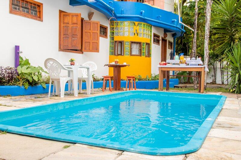 Casa em residencial de férias - piscina e praia, aluguéis de temporada em Arraial d'Ajuda