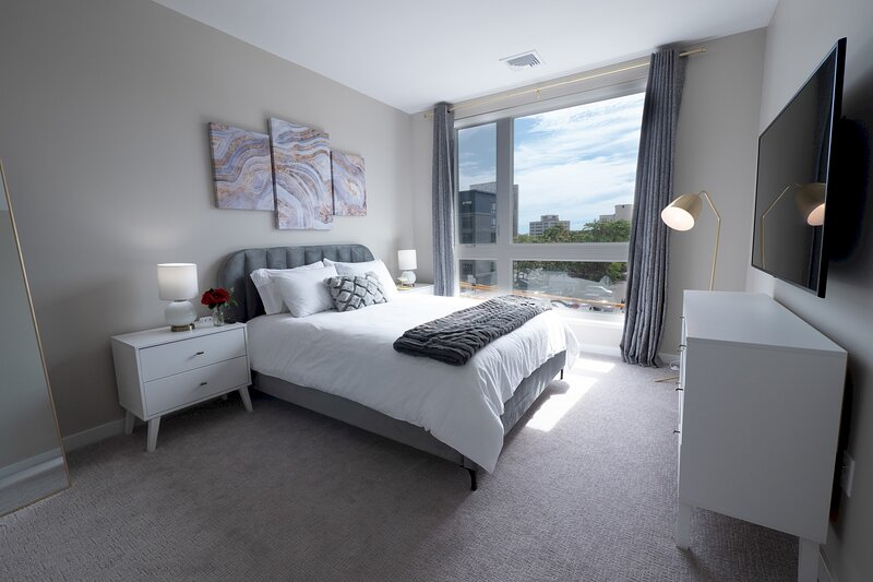 Stunning Apt W/ Parking and Gym | Downtown at Yale, holiday rental in Silver Lane