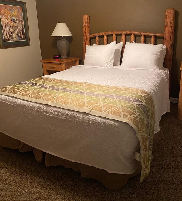 New bedding as of 01/2022
