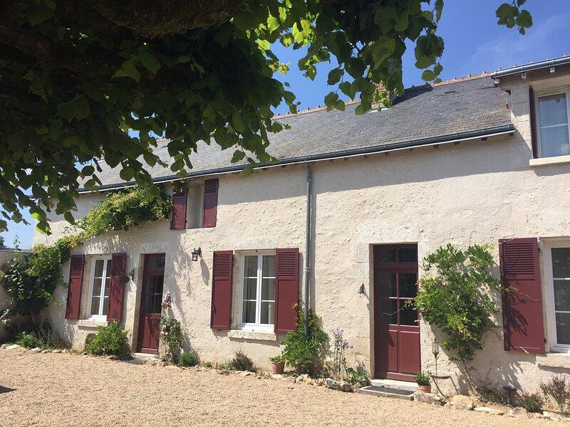 Maison de vacances de charme *** au coeur des châteaux de la Loire, location de vacances à Cellettes