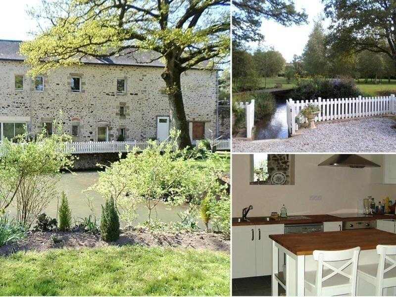Le Moulin de Gratte Sac, holiday rental in Torce-Viviers- en-Charnie