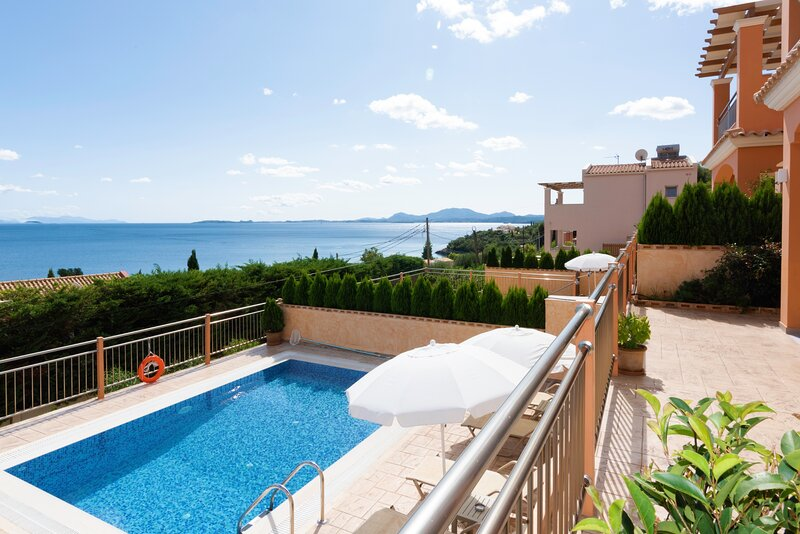 Corfu Sea View Villa Eros, vacation rental in Barbati