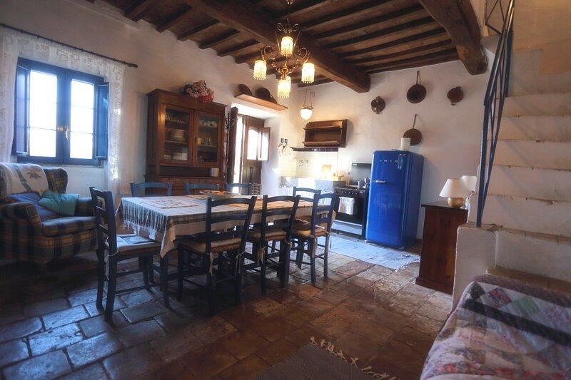 Casa Kristina near Bagnoregio, Viterbo, Orvieto, Ferienwohnung in San Michele in Teverina