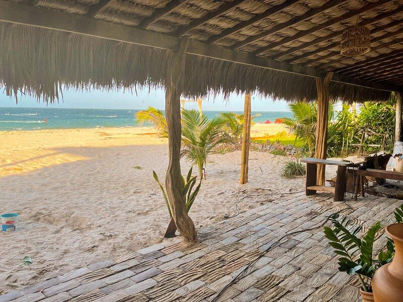 Casa PESQUEIRA Preá - Frente Mar!, holiday rental in Cruz
