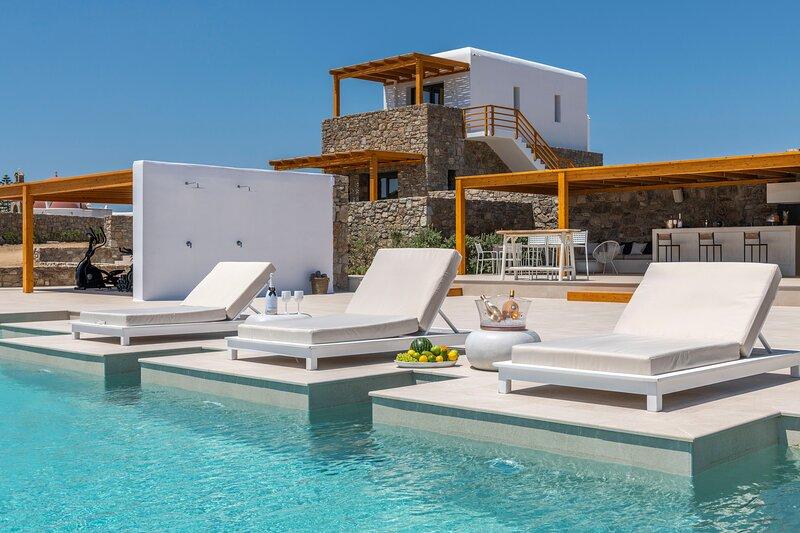 Villa White Diamond, holiday rental in Agios Sostis
