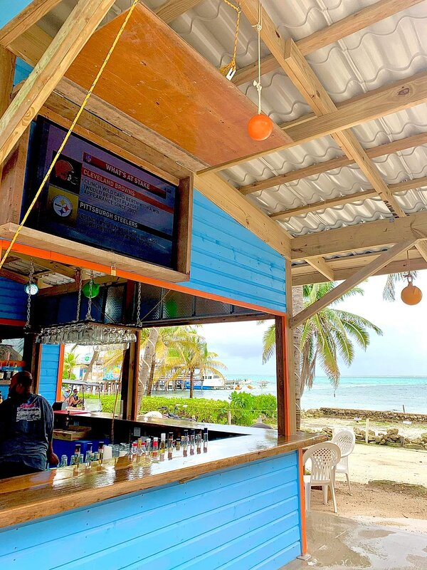 You can watch all of your games with a beautiful beach view