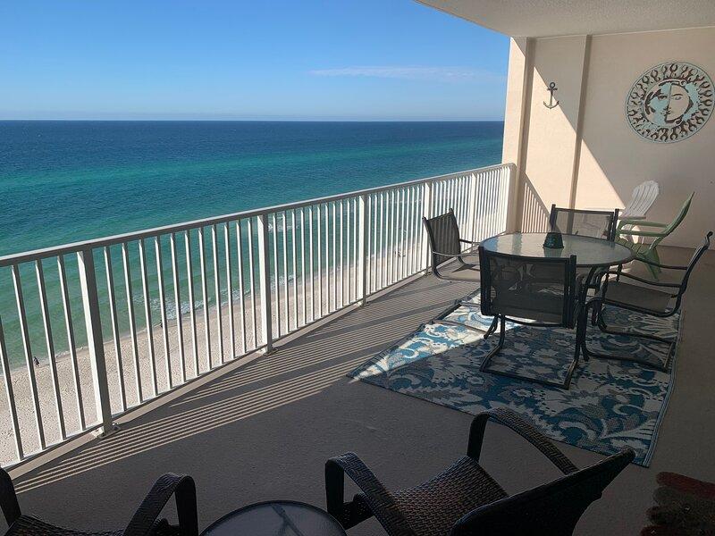 August Availability!!Huge Balcony!Best Panama City Beach Reviews!! Many Extras!!, alquiler de vacaciones en Panama City Beach