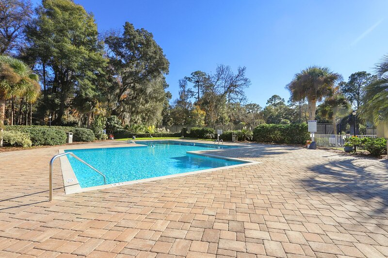 Evian's community pool