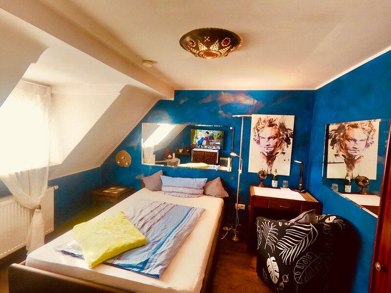 Home office.Kein Problem. 300Mbit, Smart TV, location de vacances à Bonn