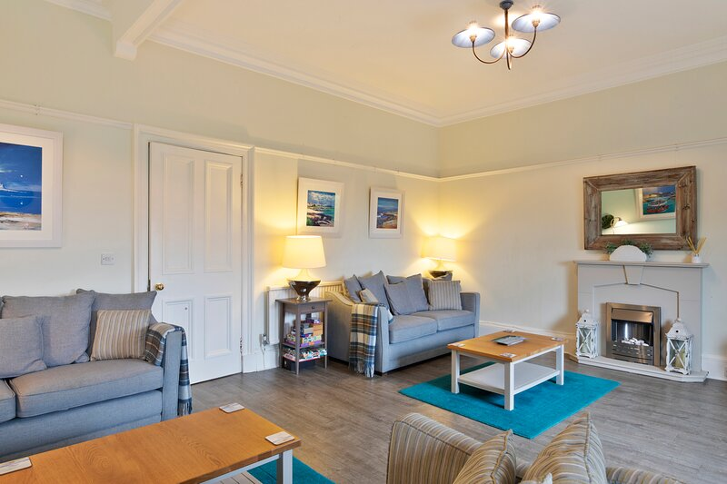 Spacious lounge for socialising