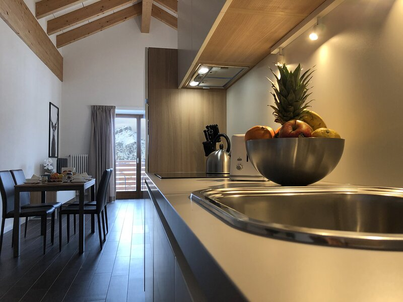 RESIDENCE AURORA - 301_Splendida Mansarda 4+2 con terrazza vista montagna, vacation rental in Velo d'astico