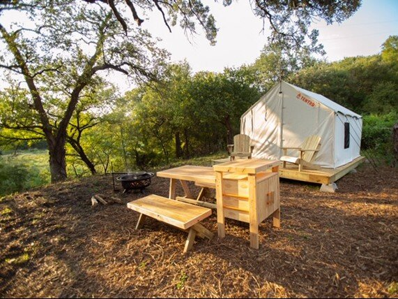Tentrr Signature Site - Beautiful Brazos River Campsite: Fishing, Hiking, holiday rental in Ross