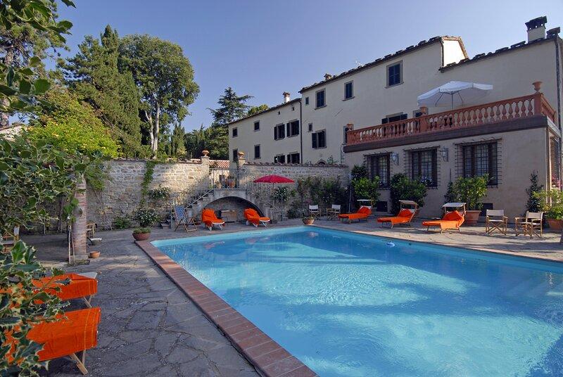 Villa del Signorino, vacation rental in Tredozio