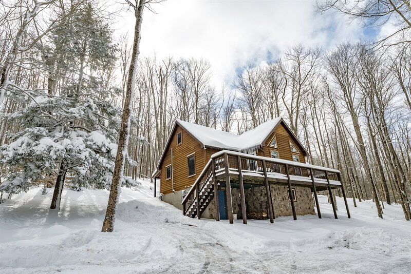 Bearfoot Lodge - 868 Cabin Mountain Road, alquiler vacacional en Petersburg