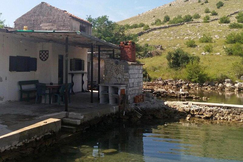One bedroom house Cove Lupešćina, Kornati (K-18657), holiday rental in Kornat Island