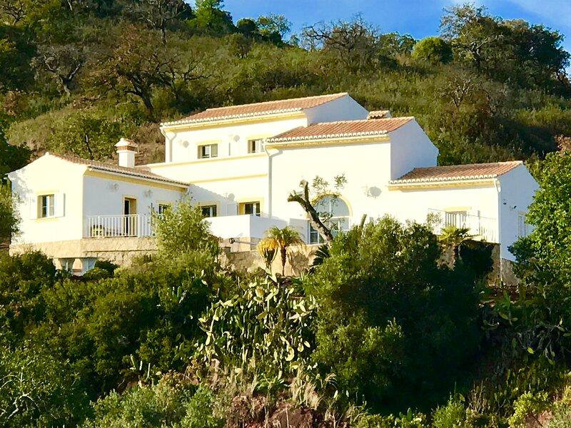 Modern Luxury traditional Algarvian 3 bed villa with private pool-amazing views, vacation rental in Santa Catarina da Fonte do Bispo