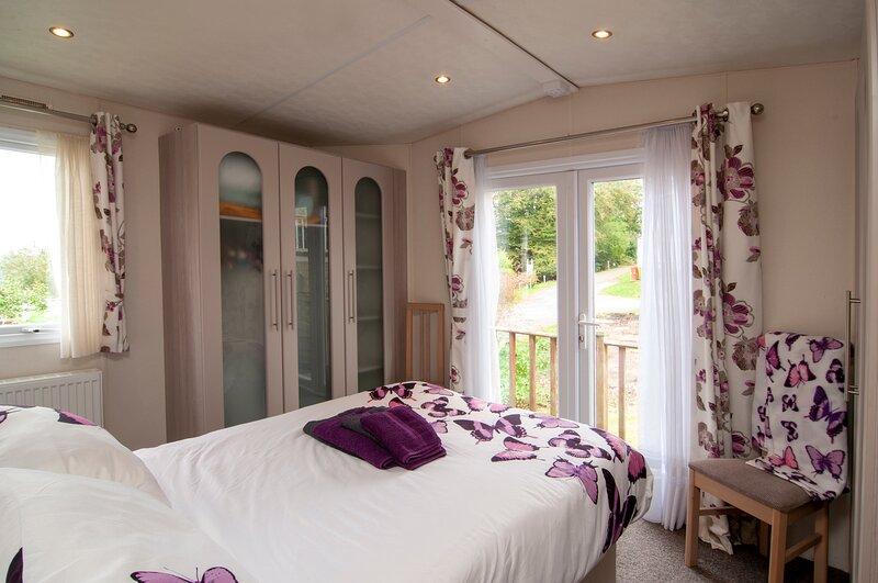 Summer lodge luxury caravan in hastings, vakantiewoning in Brede
