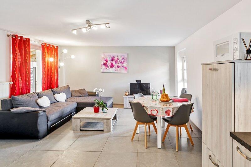 Nice house with garden & terrace, aluguéis de temporada em Epfig