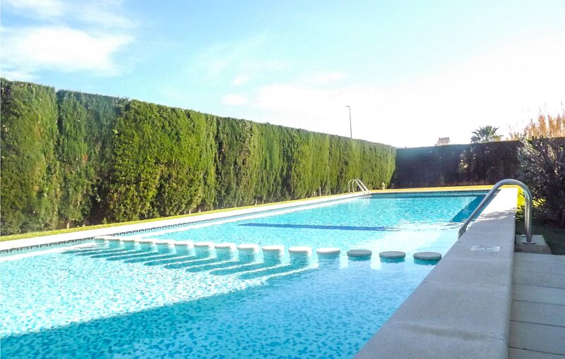 Stunning apartment in Piles with Outdoor swimming pool, WiFi and 2 Bedrooms (EBV, holiday rental in Piles