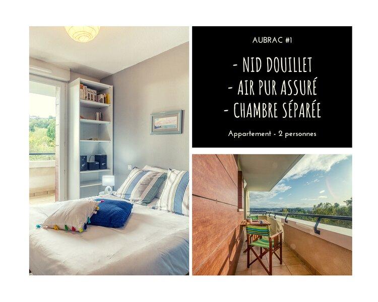 AUBRAC #1 - Bulle de coton - 1 Chambre, holiday rental in Allassac