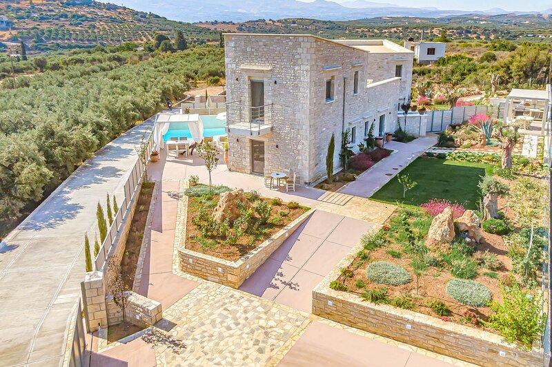 Panormo Villas - Iasion Villa, alquiler vacacional en Roumeli