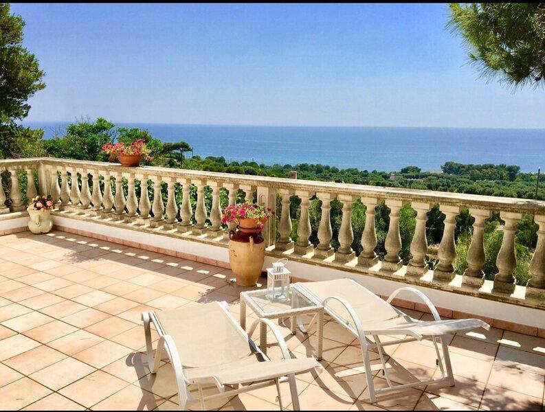 Puglia. Salento. Splendida villa a Torrevado, vacation rental in Torre Vado