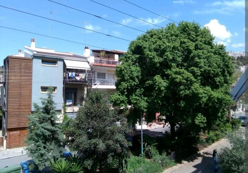 Central Green Studio Thessaloniki, alquiler de vacaciones en Agios Pavlos