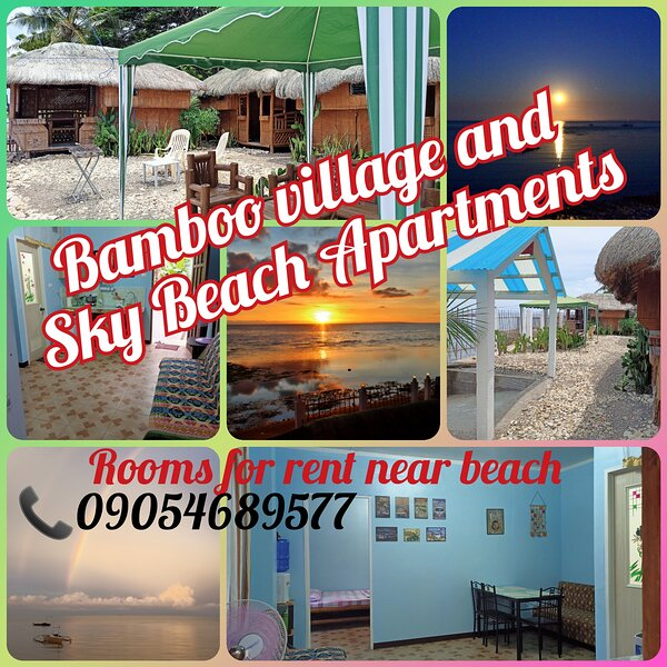 Bamboo village on the beach, bungalow #1, holiday rental in Catmon