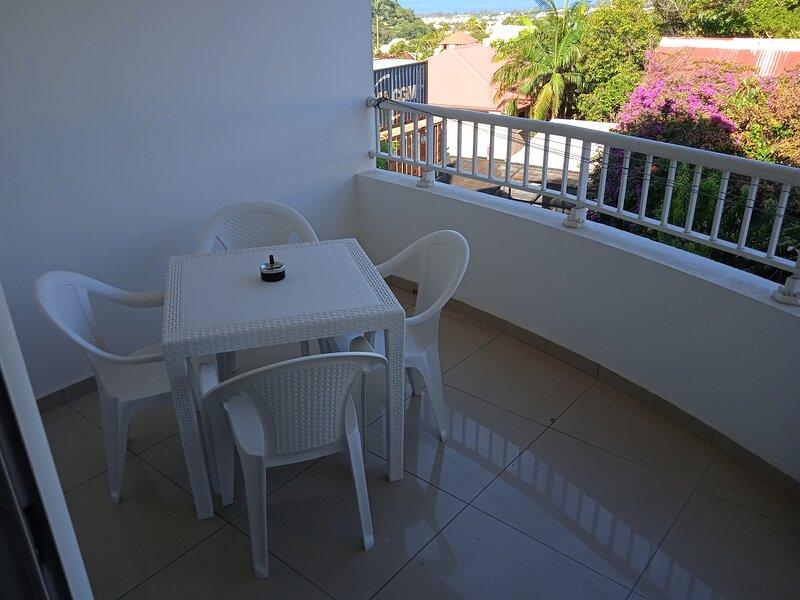 Location saisonnière studio Saint Joseph, La Réunion, casa vacanza a Matouta