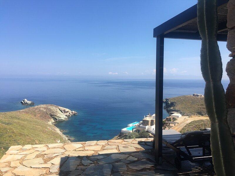 Studio O, holiday rental in Korissia