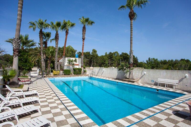 Villa con piscina vicino al mare m133, vacation rental in Melendugno