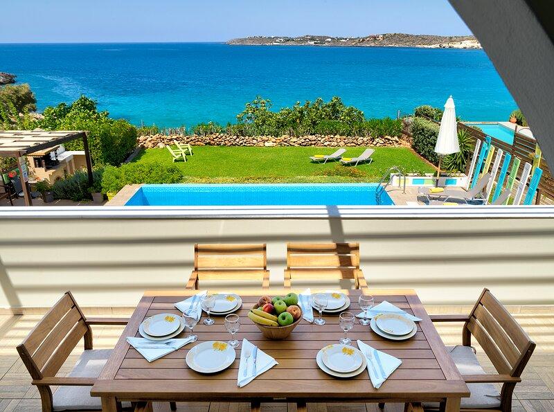 Villa Anemos, location de vacances à Kalathas