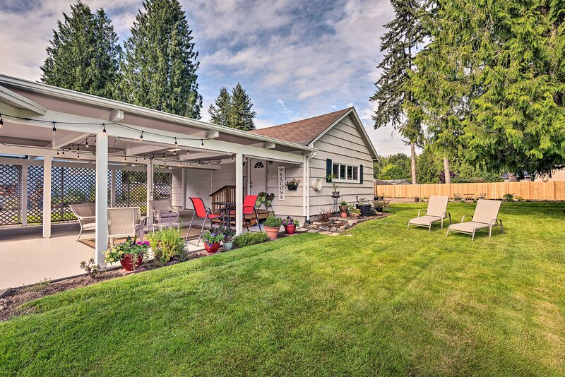 NEW! Charming Updated Studio: Walk to Lake Stevens, location de vacances à Lakewood  Snohomish County