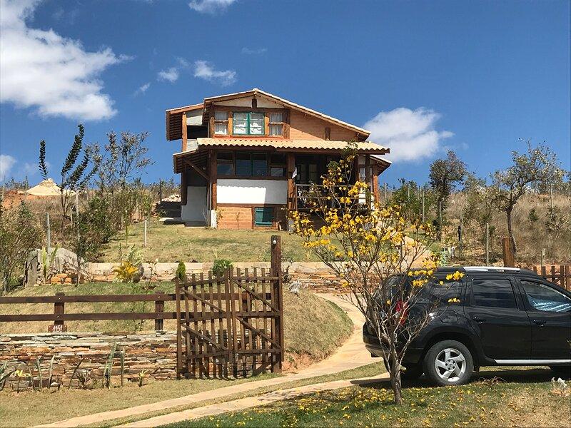 Chalé Mata Virgem - próximo às cachoeiras, casa vacanza a Stato del Minas Gerais