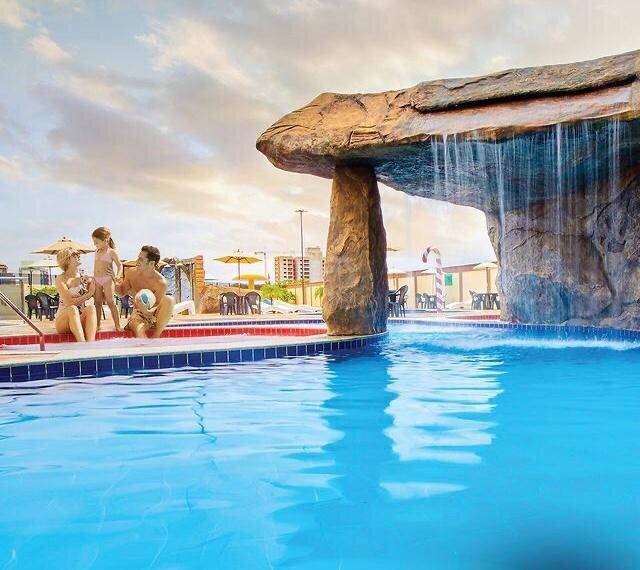 Caldas Novas Flat com parque aquático - Go, alquiler vacacional en Caldas Novas