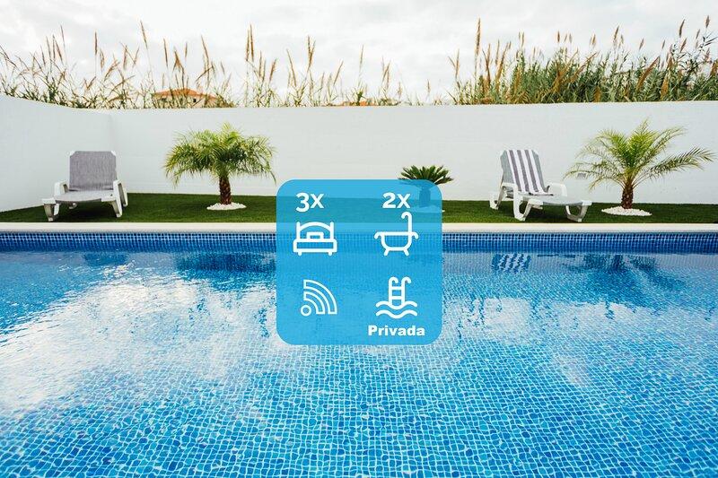 Deluxe Villa SCH026, holiday rental in Salir do Porto